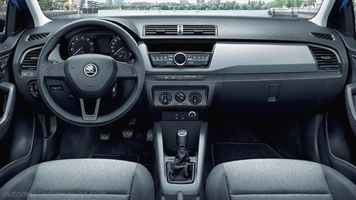 Skoda Fabia Combi 2015 Dimensions Boot Space And Interior