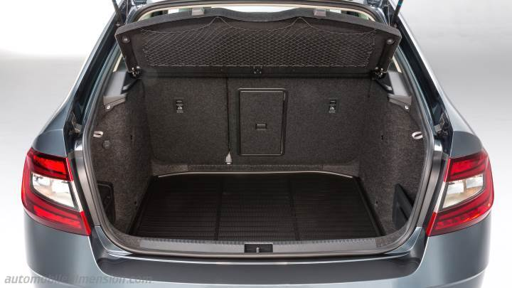skoda octavia 2017 dimensions boot space and interior. Black Bedroom Furniture Sets. Home Design Ideas
