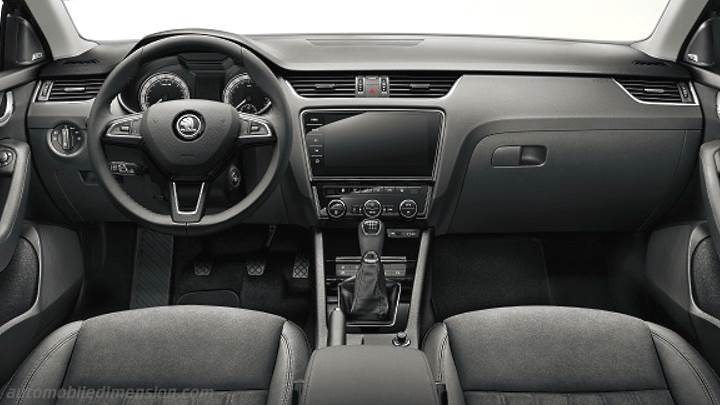 dimensions skoda octavia combi 2017 coffre et int rieur. Black Bedroom Furniture Sets. Home Design Ideas