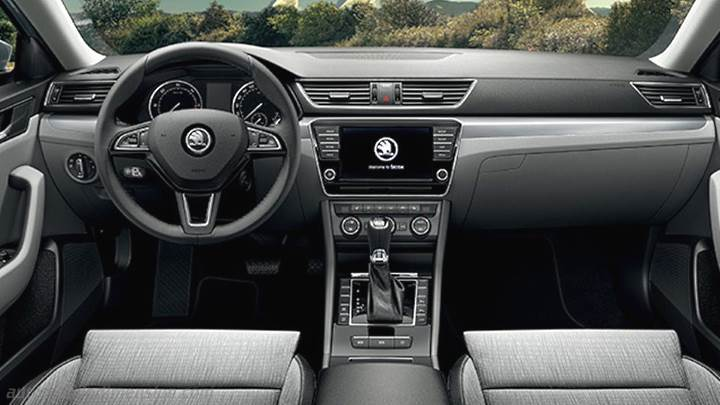 Skoda Superb 2015 Armaturenbrett