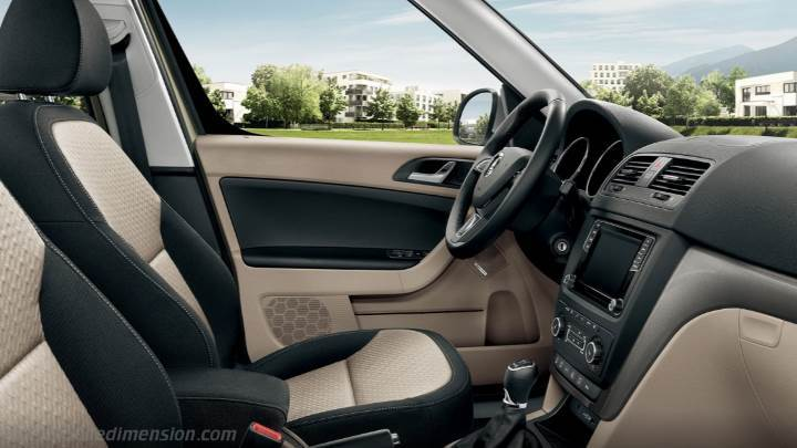 Skoda Yeti 2014 Dimensions Boot Space And Interior