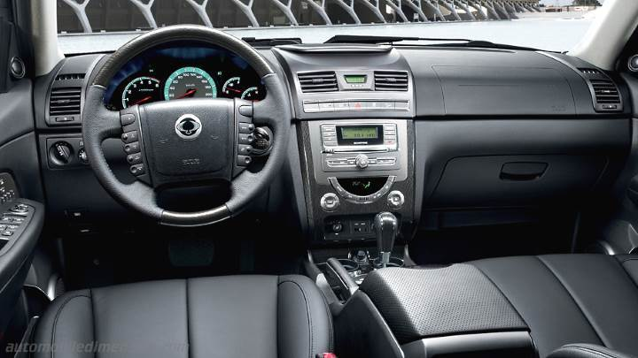 Cruscotto SsangYong Rexton W 2013