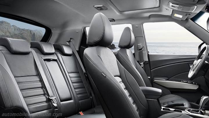 Ssangyong Tivoli 2015 Dimensions Boot Space And Interior
