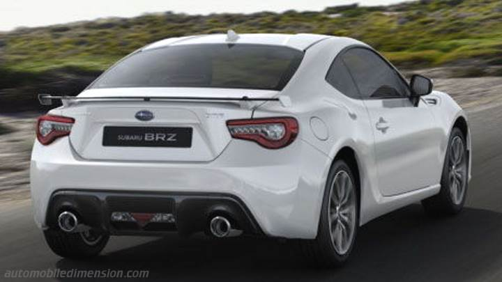 Subaru Brz 2017 Dimensions Boot Space And Interior
