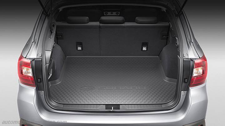 subaru outback  dimensions boot space  interior