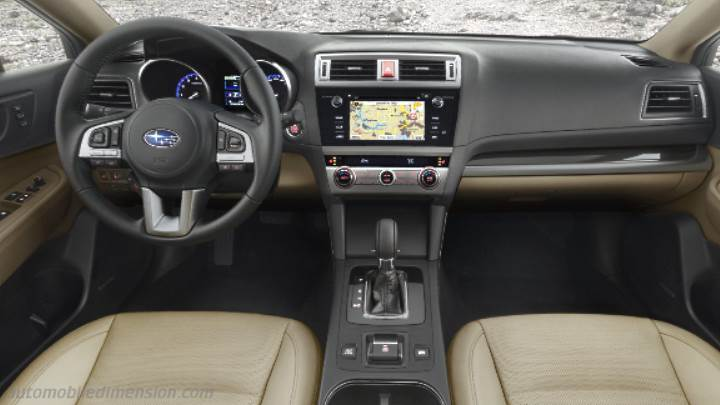 Subaru Outback 2015 dashboard