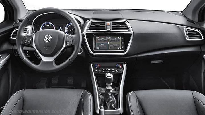 suzuki s cross 2016 dimensions boot space and interior. Black Bedroom Furniture Sets. Home Design Ideas
