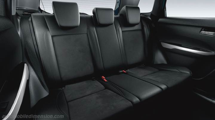 suzuki vitara  dimensions boot space  interior
