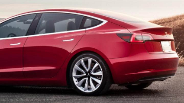 Tesla Model 3 2018 kofferbak