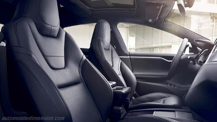 Tesla Model S 2016 interieur