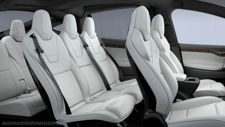 Tesla Model X 2016 interieur