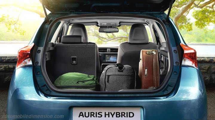 toyota auris 2015 dimensions boot space and interior. Black Bedroom Furniture Sets. Home Design Ideas