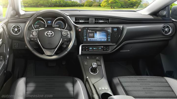 Cruscotto Toyota Auris 2015