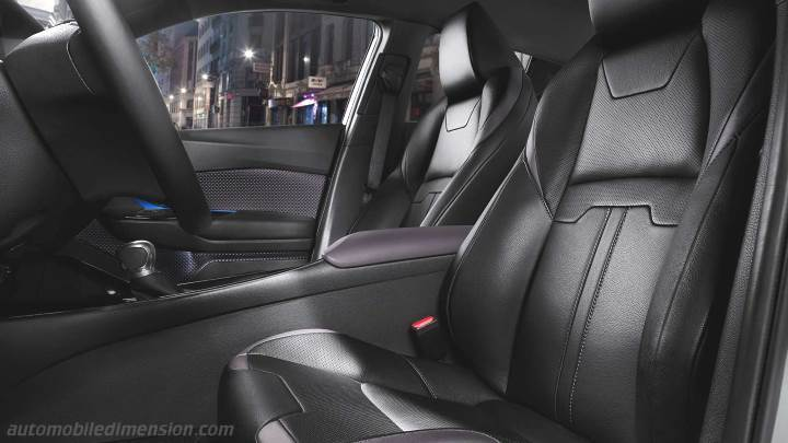 Toyota C Hr 2017 Dimensions Boot Space And Interior