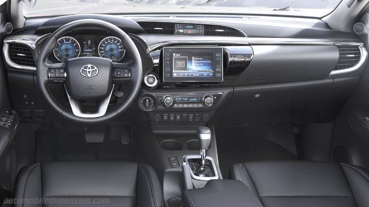Toyota Hilux 2016 Dimensions Boot Space And Interior