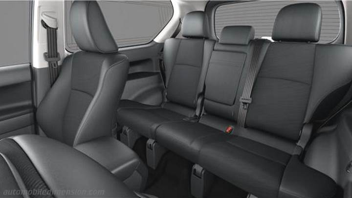 Toyota Land Cruiser 3p 2018 interieur