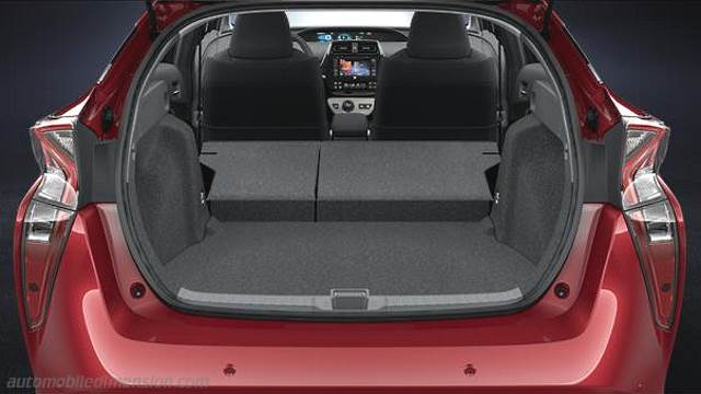 Toyota prius 2016 dimensions boot space and interior - Toyota prius interior dimensions ...