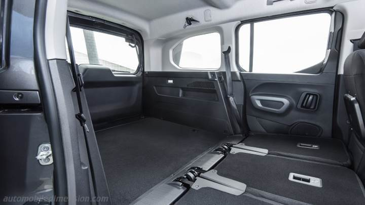 Toyota Proace City Verso Long 2020 boot