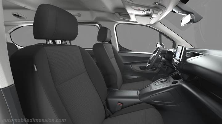 Toyota Proace City Verso Long 2020 interior