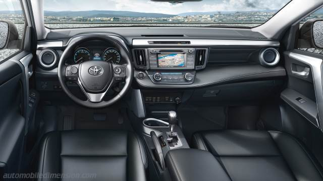 Charming Toyota RAV4 2016 Dashboard Zoom