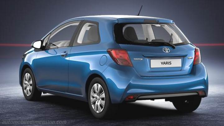 toyota yaris 2014 dimensions boot space and interior. Black Bedroom Furniture Sets. Home Design Ideas
