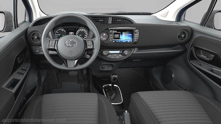 Toyota Yaris 2017 Dimensions Boot Space And Interior