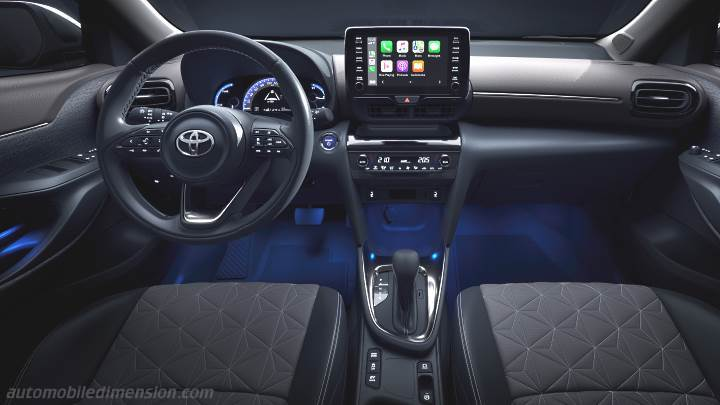 Toyota Yaris Cross 2021 Armaturenbrett