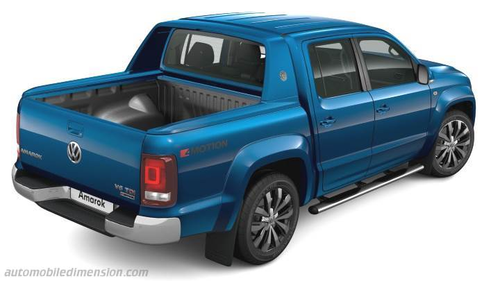 volkswagen amarok 2016 dimensions boot space and interior. Black Bedroom Furniture Sets. Home Design Ideas