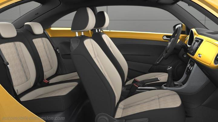 Volkswagen Beetle 2016 Dimensions Boot Space And Interior