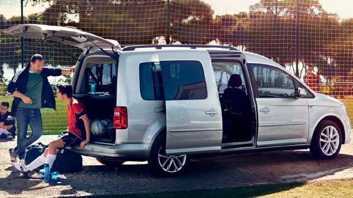 volkswagen caddy maxi 2015 abmessungen kofferraum und. Black Bedroom Furniture Sets. Home Design Ideas