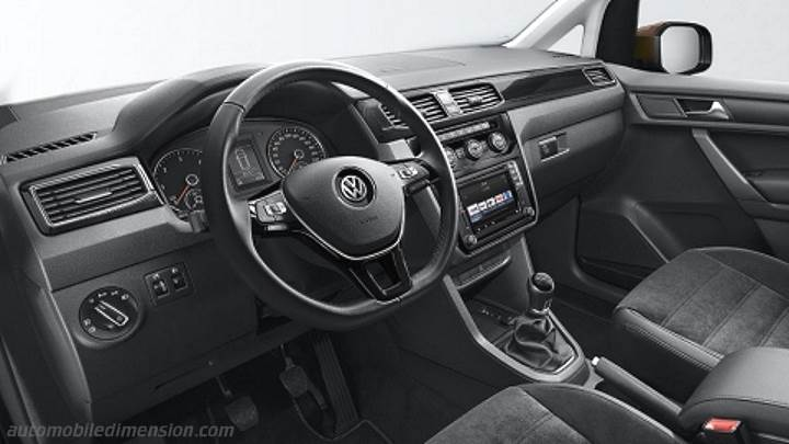 Volkswagen Caddy Maxi 2015 dashboard