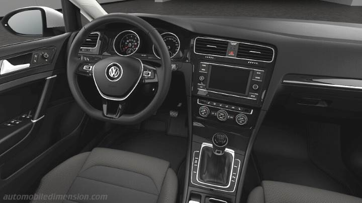 Volkswagen Golf Variant 2017 dashboard