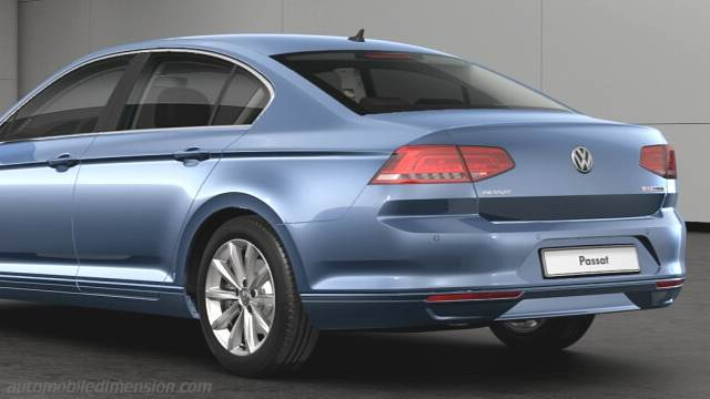volkswagen passat 2015 dimensions boot space and interior. Black Bedroom Furniture Sets. Home Design Ideas