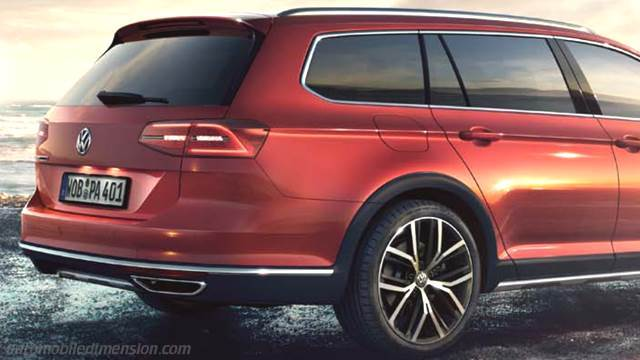volkswagen passat alltrack 2015 dimensions boot space and interior. Black Bedroom Furniture Sets. Home Design Ideas