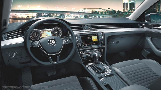 Volkswagen Passat Variant 2015 Dimensions Boot Space And