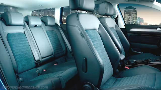 volkswagen passat variant 2015 dimensions boot space and interior. Black Bedroom Furniture Sets. Home Design Ideas