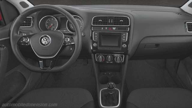 volkswagen polo 2014 dimensions boot space and interior. Black Bedroom Furniture Sets. Home Design Ideas