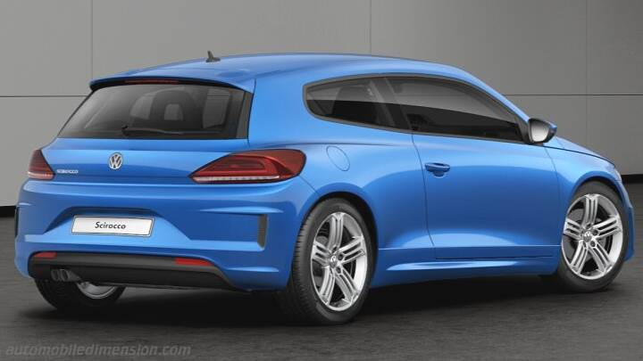Volkswagen Scirocco 2014 Dimensions Boot Space And Interior