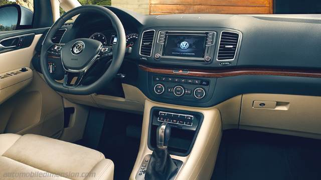 Volkswagen Sharan 2015 dashboard