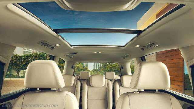 Volkswagen Sharan 2015 interieur