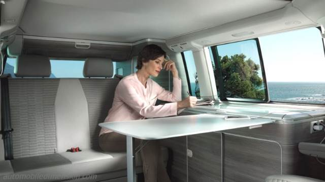 Volkswagen T6 California 2015 interieur