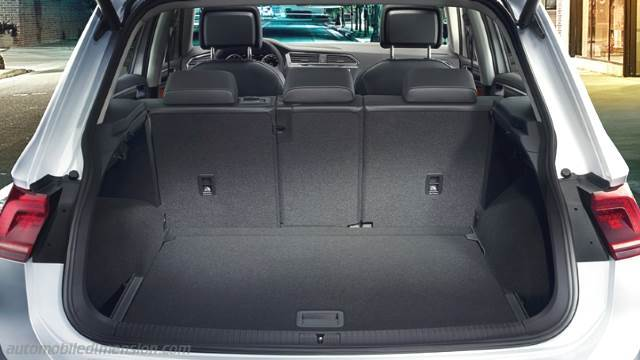 dimensions volkswagen tiguan 2016 coffre et int rieur. Black Bedroom Furniture Sets. Home Design Ideas