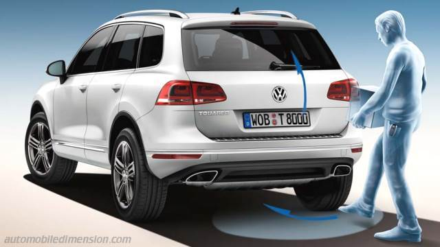 volkswagen touareg 2015 abmessungen kofferraum und innenraum. Black Bedroom Furniture Sets. Home Design Ideas