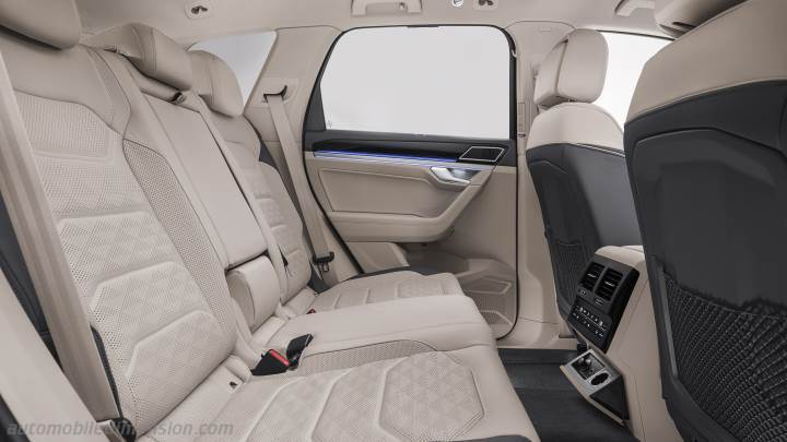 Volkswagen Touareg 2018 dimensions, boot space and interior