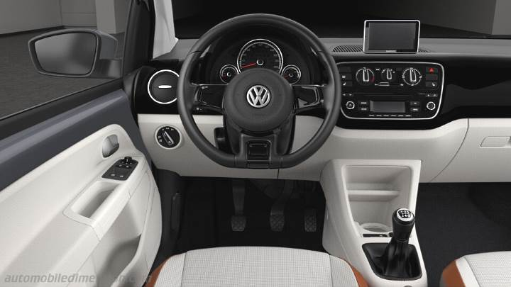 Audi Suv Models >> Volkswagen up! 2012 dimensions, boot space and interior