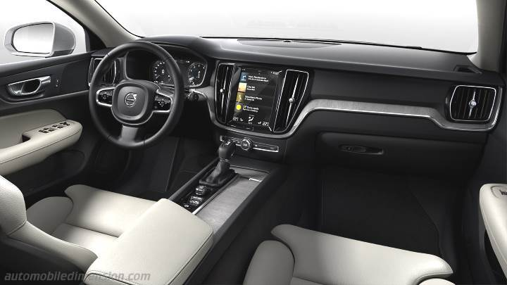 Volvo V60 Cross Country >> Volvo S60 2019 dimensions, boot space and interior