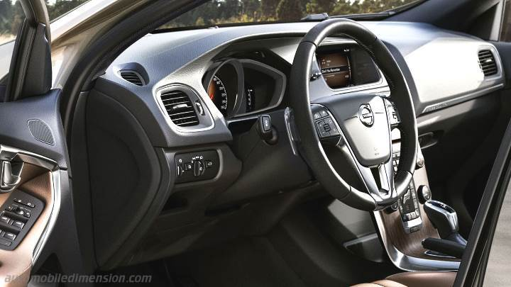 Volvo V40 Cross Country 2016 dimensions, boot space and ...