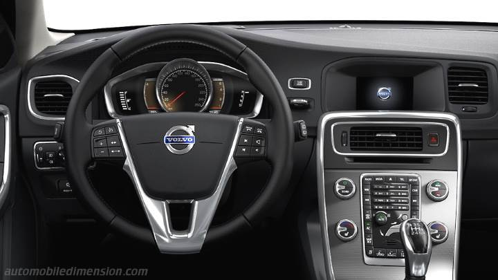 dimensions volvo v60 cross country 2015 coffre et int rieur. Black Bedroom Furniture Sets. Home Design Ideas
