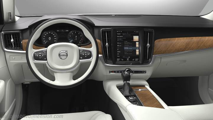 Volvo V90 2016 dashboard