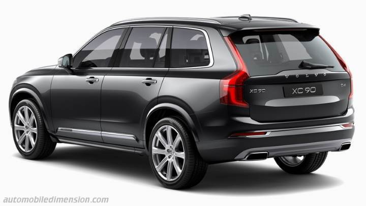 Volvo Xc90 2017 Boot Zoom